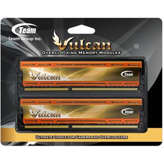 16GB TeamGroup Vulcan Series orange DDR3-2133 DIMM CL10 Dual Kit