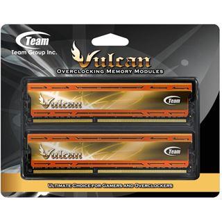 16GB TeamGroup Vulcan Series orange X.M.P. DDR3-2400 DIMM CL11 Dual