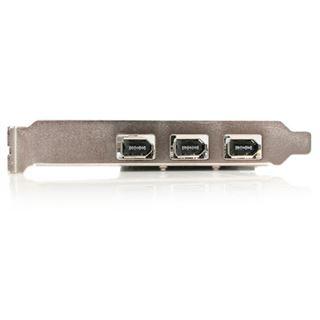 Startech PEX13943 FireWire 4 Port PCIe x1 Low Profile retail