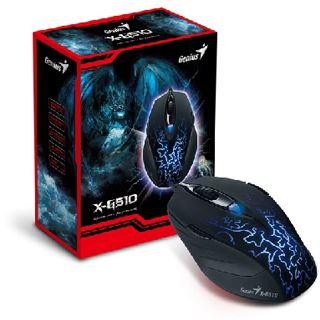 Genius X-G510 USB schwarz/blau (kabelgebunden)