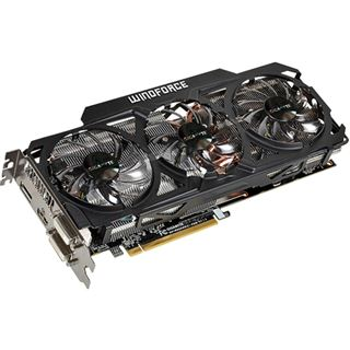 4GB Gigabyte Radeon R9 290X Windforce 3X OC Aktiv PCIe 3.0 x16