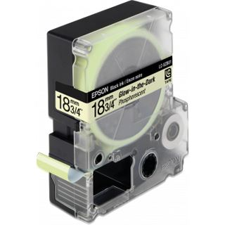 Epson LC-5ZBU1 phosphoreszierend Etikettenkassette (1 Rolle (1.8 cm x