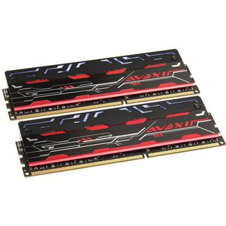 8GB Avexir Blitz Series White LED DDR3-1600 DIMM CL9 Dual Kit