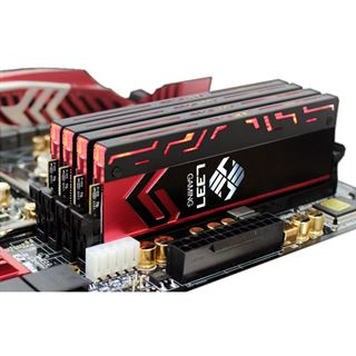 8GB Avexir Blitz Series Red LED Elitegroup-L337 DDR3-2400 DIMM CL10