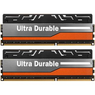 8GB Avexir Blitz Series Orange LED OC-Force DDR3-1600 DIMM CL9 Dual