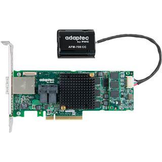 Adaptec 8885Q 2277100-R 2 Port Multi-lane PCIe 3.0 x8 Battery Backup
