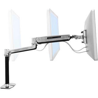 Ergotron 45-384-026 LX HD Sitz Steh Tischhalterung schwarz/silber
