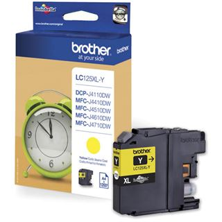 Brother MFC-J4510 Tinte Gelb LC-125XLYBPRF -1200S BL RF,