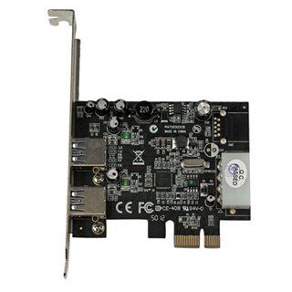 Startech PEXUSB3S25 2 Port PCIe x1 inkl. Low Profile Slotblech retail