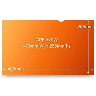 "3M GPF19,0W Blickschutzfilter für 19"" Monitore (98044055030)"