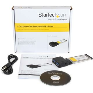 Startech ECUSB3S22 2 Port Express Card 34 retail