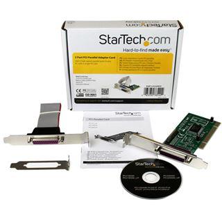 Startech PCI2PECP Parallel 2 Port PCI Low Profile/zweites Slotblech