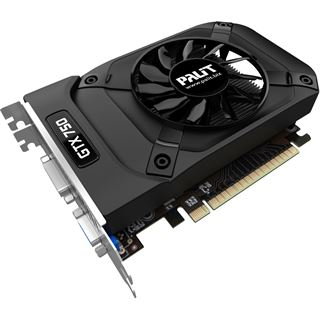 2GB Palit GeForce GTX 750 Ti StormX OC Aktiv PCIe 3.0 x16 (Retail)
