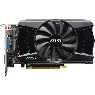 2GB MSI GeForce GTX 750 Ti OC Aktiv PCIe 3.0 x16 (Retail)
