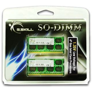 8GB G.Skill Standard DDR3L-1333 SO-DIMM CL9 Dual Kit