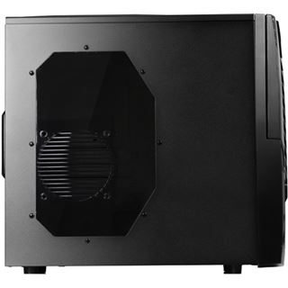Raidmax Horus MX mit Sichtfenster Midi Tower ohne Netzteil schwarz