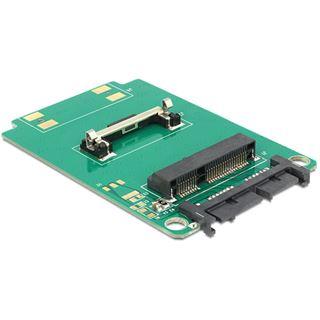 Delock 62519 Micro SATA Adapter für mSATA Half Size Festplatten