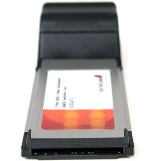Startech ECESAT32 eSATA 6Gb/s 2 Port Express Card 34 retail