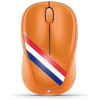 Logitech M235 Niederlande USB orange (kabellos)