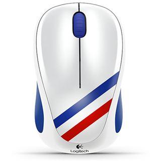 Logitech M235 WM Edition Frankreich USB blau/rot/weiß (kabellos)