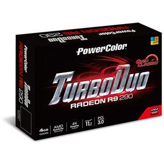 4GB PowerColor Radeon R9 290 TurboDuo Aktiv PCIe 3.0 x16 (Retail)