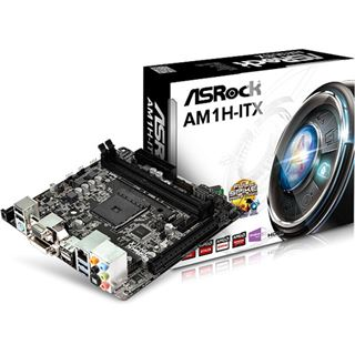 ASRock AM1H-ITX SoC So.AM1 Single Channel DDR3 Mini-ITX Retail