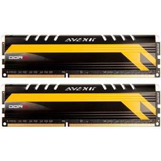 16GB Avexir Core Series MPOWER Edition rote LED DDR3-2666 DIMM CL12