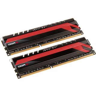 8GB Avexir Core Series MPOWER Edition rote LED DDR3-2400 DIMM CL11