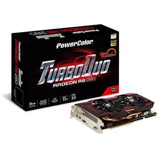 3GB PowerColor Radeon R9 280 TurboDuo OC Aktiv PCIe 3.0 x16 (Retail)