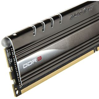 8GB Avexir Core Series weiße LED DDR3-2400 DIMM CL11 Dual Kit