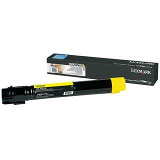 Lexmark XS955de Tonerkartusche gelb Standardkapazität 22.000