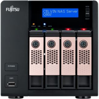 Fujitsu Celvin NAS Server Q802 ohne Festplatten