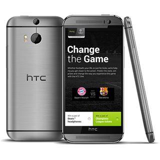 HTC One (M8) 16 GB silber