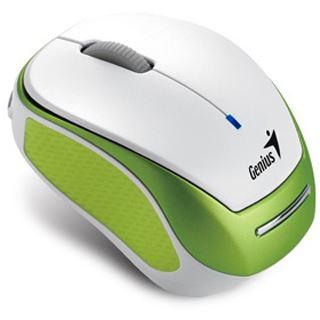 Genius Micro Traveler 9000R USB weiß/gruen (kabellos)