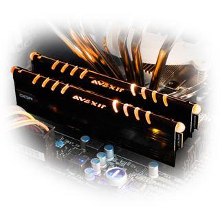 8GB Avexir Core Series orange LED DDR3-2133 DIMM CL11 Dual Kit