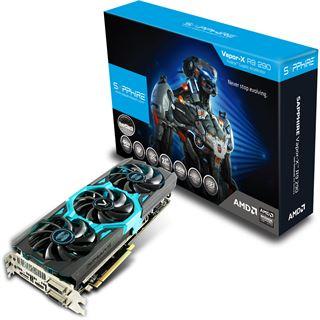 4GB Sapphire Radeon R9 290 Vapor-X OC Aktiv PCIe 3.0 x16 (Retail)