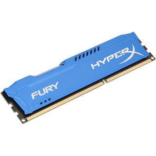 8GB HyperX FURY blau DDR3-1600 DIMM CL10 Single