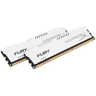 16GB HyperX FURY weiß DDR3-1600 DIMM CL10 Dual Kit