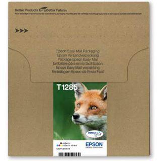 Epson T1285 Tintenpatrone schwarz und dreifarbig