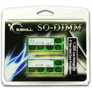 8GB G.Skill F3-1600C11D-8GSL DDR3L-1600 SO-DIMM CL11 Dual Kit