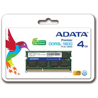 4GB ADATA Premier Series DDR3L-1600 SO-DIMM CL11 Single