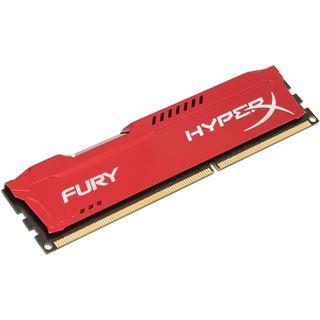 4GB HyperX FURY rot DDR3-1333 DIMM CL9 Single