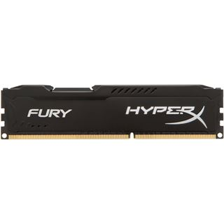 8GB HyperX FURY schwarz DDR3-1866 DIMM CL10 Single