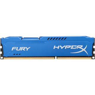 8GB HyperX FURY blau DDR3-1866 DIMM CL10 Dual Kit