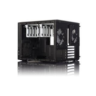 Fractal Design Node 804 mit Sichtfenster Wuerfel ohne Netzteil schwarz