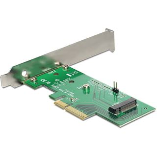 Delock 89370 1 Port PCIe 3.0 x4 inkl. Low Profile Slotblech / Low