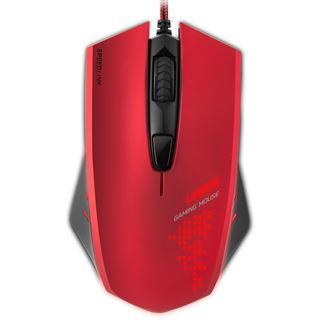 Speedlink Ledos USB schwarz/rot (kabelgebunden)
