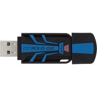 64 GB Kingston DataTraveler R3.0 G2 schwarz/blau USB 3.0