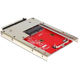 """Delock IDE 44-Pin auf mSATA Adapter Adapter für 2,5"""" SSDs"""