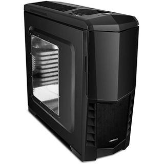 Raidmax Scorpio V mit Sichtfenster Midi Tower ohne Netzteil schwarz